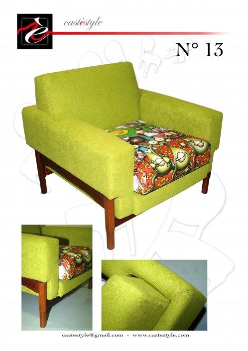 Poltroncina anni 70 Verde - Catalogo Mobili d'ArteCastèstyle n.13