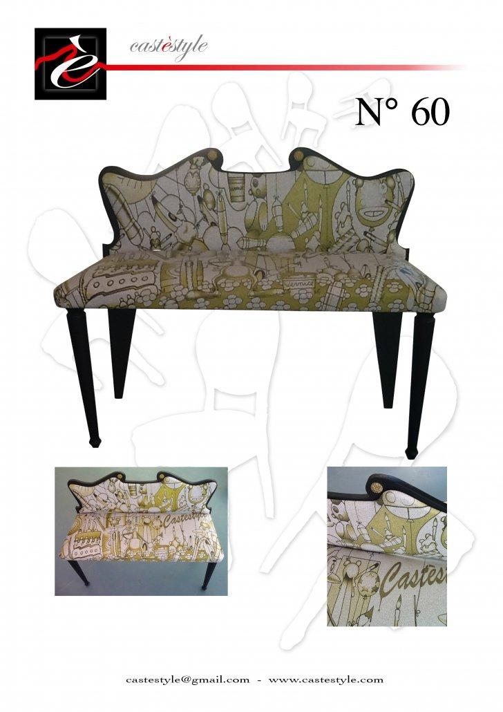Divanetto Antico Bambole - Catalogo Mobili d'Arte Castèstyle n.60
