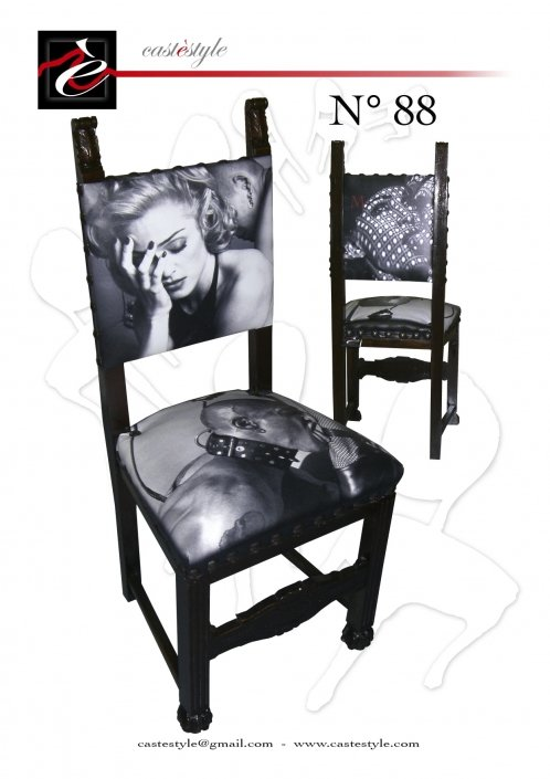 Sedia Tributo Madonna n.88 Castèstyle