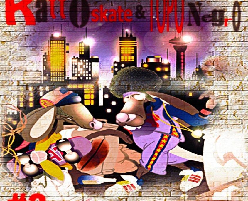 comic novel- Topo City