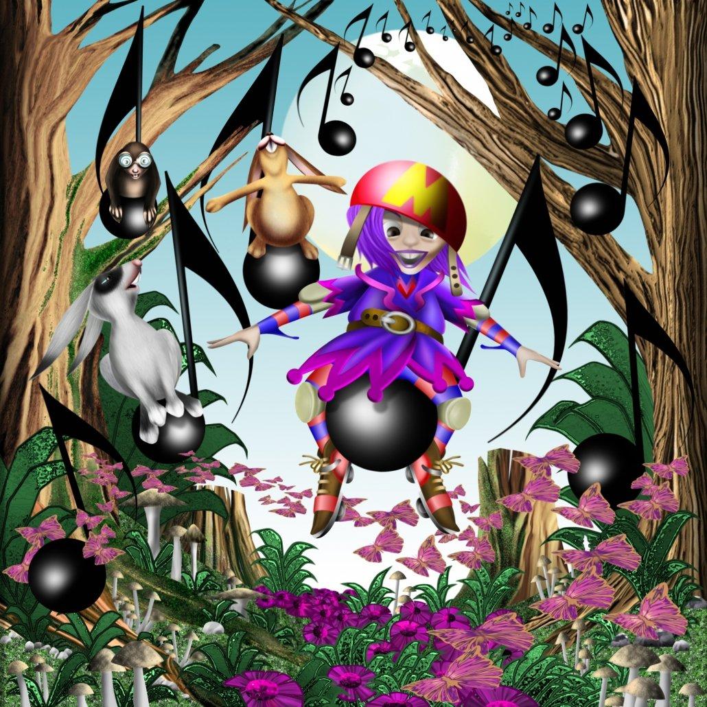 Illustrazioni per bambini - Mirtilla