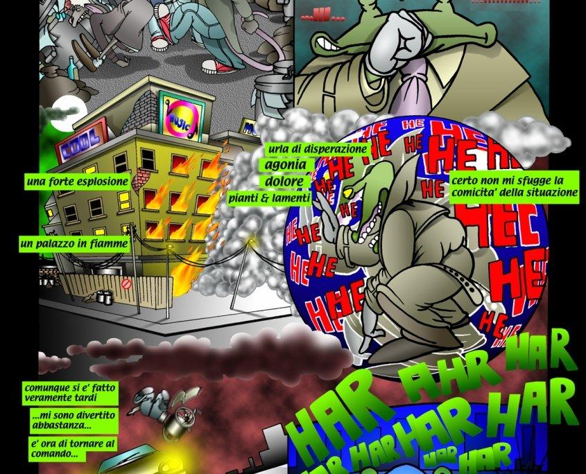TopoCity -Graphic Novel