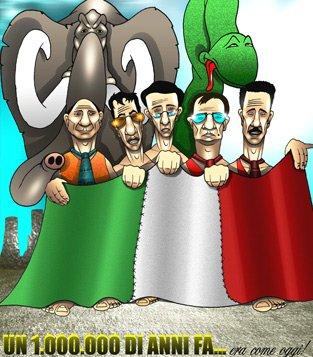 Fumetti a tema Politico di Lucchesi