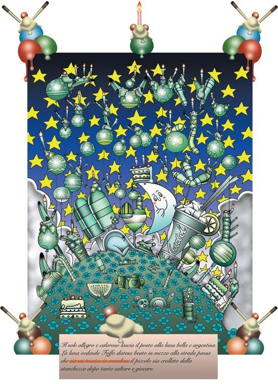 Il Mondo Birichino - Illustrazione n.6 della Comics Novel Il Corriere del Birichino