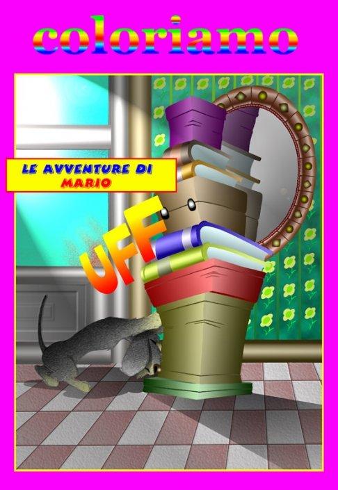 Le Avventure di Mario Bassotto- copertina