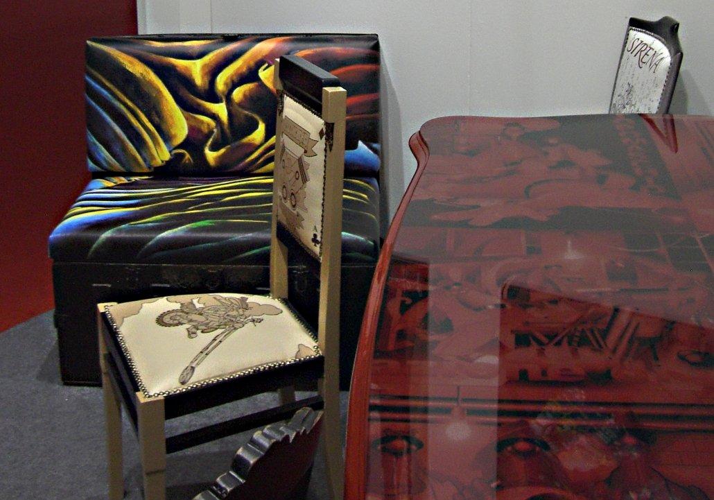 Mobili d'arte Castèstyle al Macef di Milano