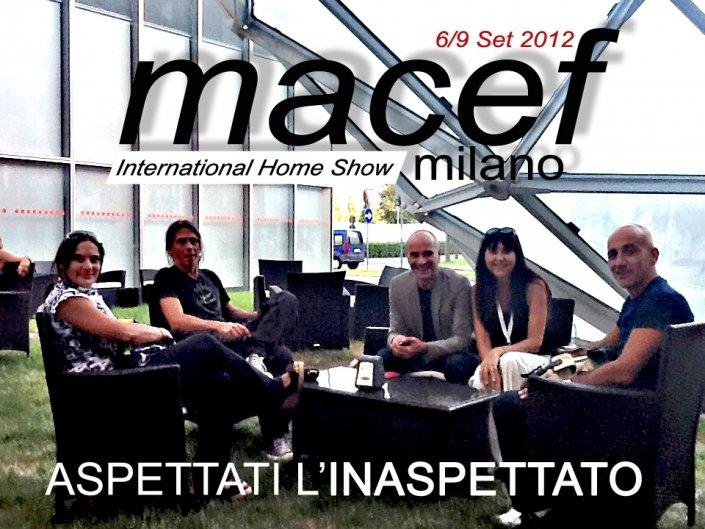 Lo staff Castèstyle al Macef di Milano
