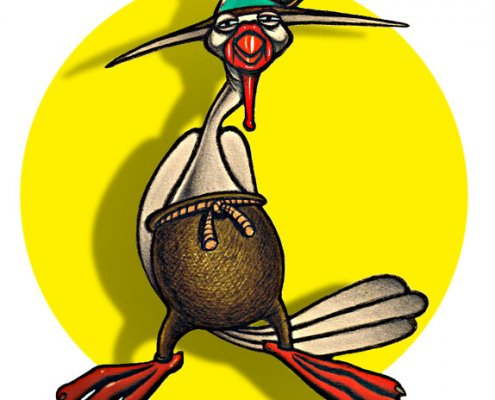 Il Gallo - Personaggio per l'infanzia di Simone Lucchesi