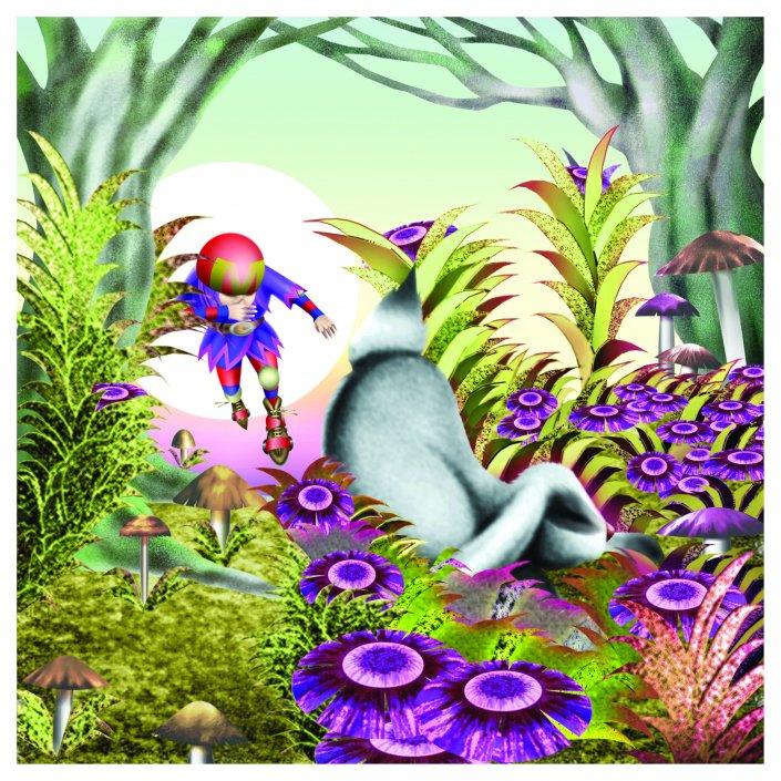 Illustrazioni per bambini di S.Lucchesi - Mirtilla