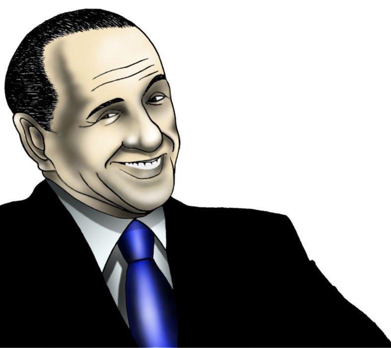 Silvio Berlusconi- Ritratto di S.Lucchesi